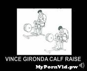 In this video we look at the Vince Gironda style of doingcalfraises. Two factors were most important, placing pressure on the first ...